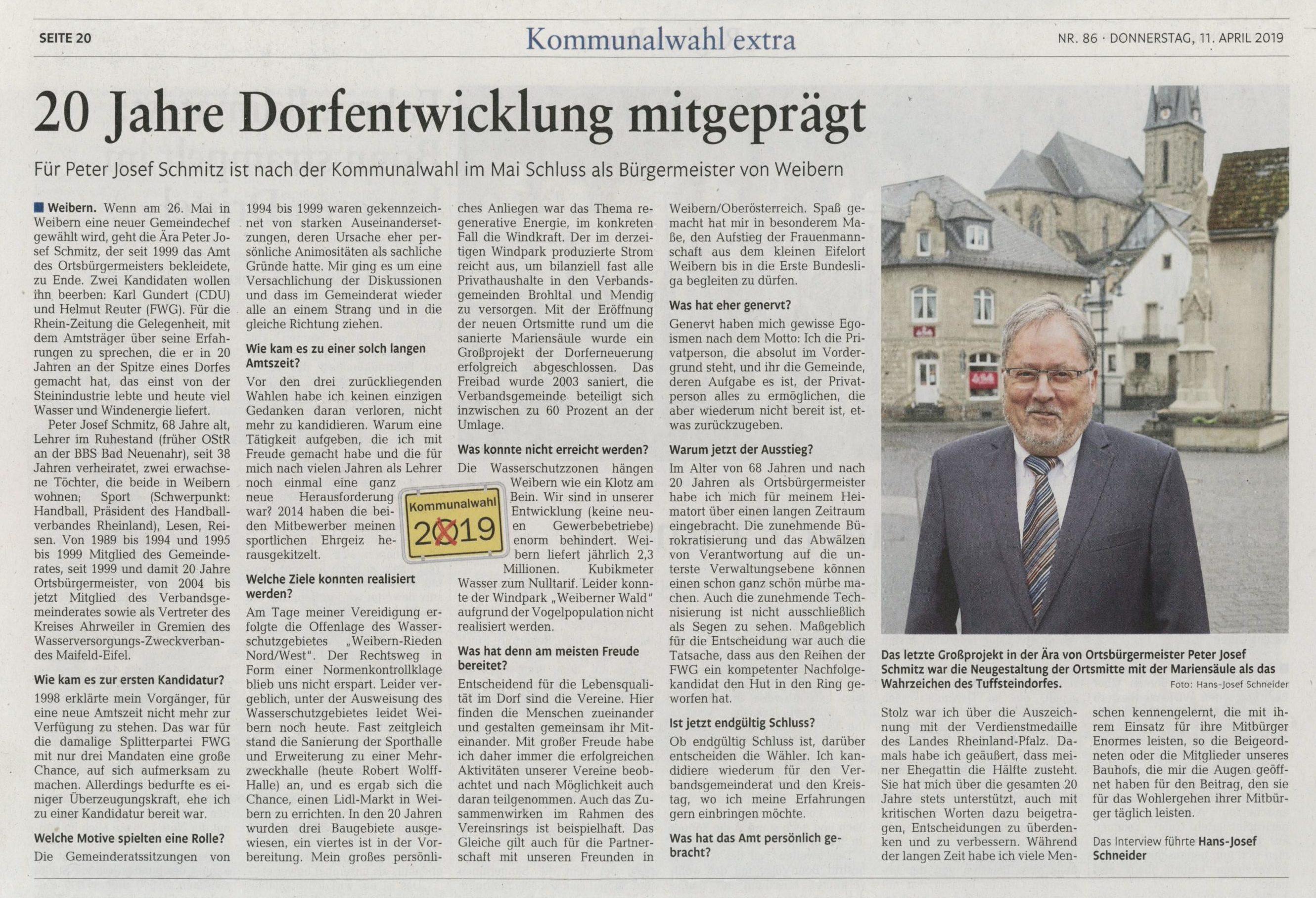 FWG-Weibern-Interview-Peter-Josef-Schmitz-20-Jahre-Buergermeister-2019