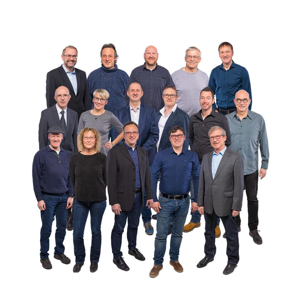 FWG Weibern Kandidaten Wahl 2019