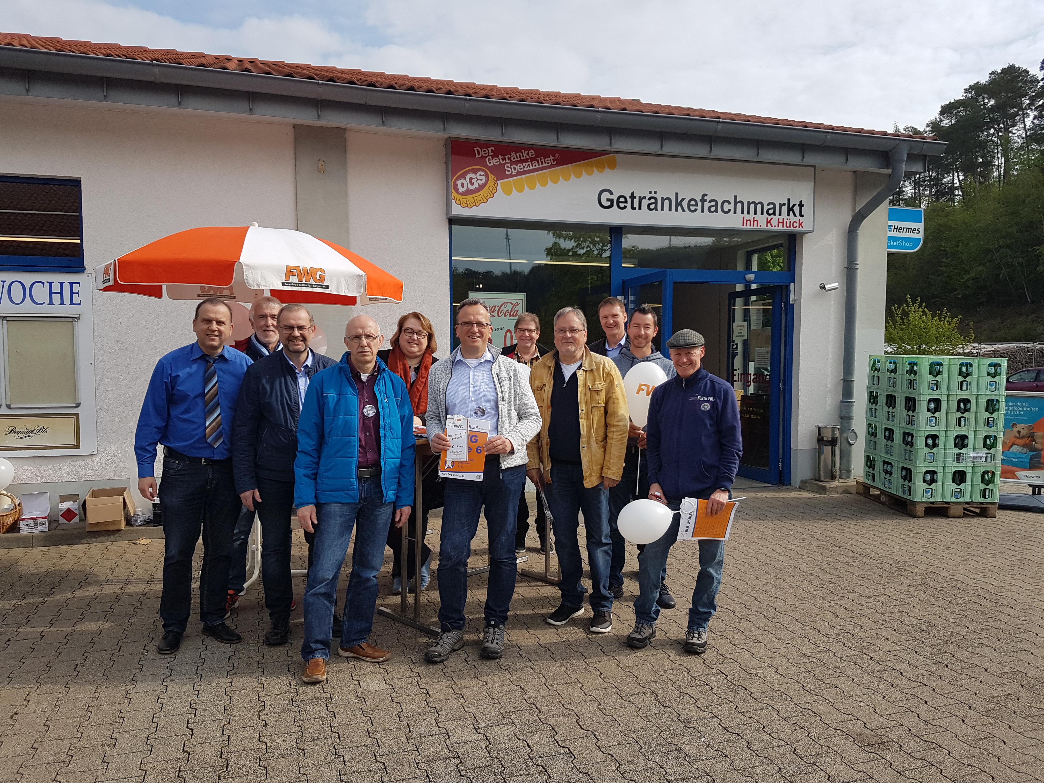 Endspurt für die Kommunalwahl in Weibern